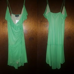 Green Hot Kiss Dress NWT Size M